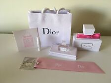 Miss Dior mini Blooming Bouquet Pink Deluxe Gift Set 5ml Mini Bookmark Card