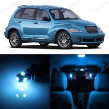 8 x Ice Blue LED Interior Light Kit For 2001 - 2010 Chrysler PT Cruiser + TOOL