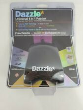 Dazzle Universal 6 in 1 Reader For All Digital Media DM-8400 Windows XP/MAC NEW!