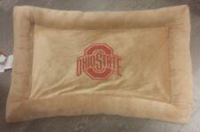 "OHIO STATE University Ohio St Buckeyes NCAA Pet Dog pillow Dog bed 20x30"" NEW"