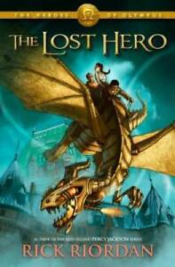 The Lost Hero (Heroes of Olympus, Book 1) - Hardcover - ACCEPTABLE