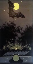 Charley/Charles Harper - BAT, BULLFROG and BONFIRE - COA - Glows In The Dark!