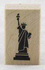 Statue of Liberty Wood Mounted Rubber Stamp Inkadinkado NEW ny usa york america