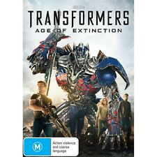 TRANSFORMERS:AGE OF EXTINCTION-Mark Walberg-Region 4-New AND Sealed