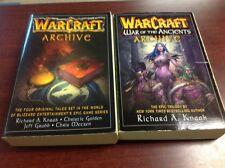 Lot of 2 WARCRAFT ARCHIVE War of the Ancients TPB books PB Pocket 2006 2007