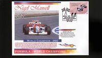 NIGEL MANSELL 1992 F1 WORLD CHAMPION COVER, McLAREN