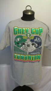 1997 Grey Cup Shirt - Saskatchewan vs. Toronto - Helmet Grpahic - Men's XL