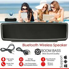 New Wireless Powerful Portable Bluetooth Loud Stereo Speaker Hi-Fi USB AUX UK