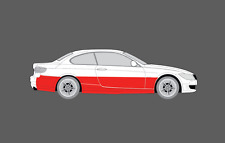 BMW M3 (E92) 2008-2013 pannelli laterali inferiori CHIARA scheggiatura protezione Guard Film