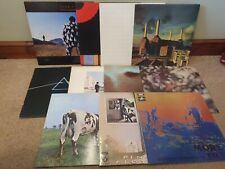 Vinyl- Pink Floyd - 11 Vinyl Records Incl Animals,The Wall,Dark Side of the Moon