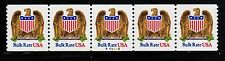 #2602 Eagle & Shield PNC5  Pl #A43325 - MNH