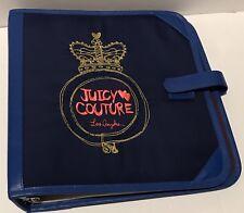 """Juicy Couture 12""""x12"""" Binder"""