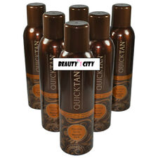 Body Drench Quick Tan Instant Self Tanning Medium Dark Spray 6 oz (Pack of 6)