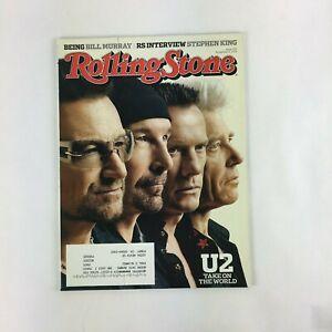 November 2014 Rolling Stone Magazine U2 Take on The World Bill Murry StephenKing
