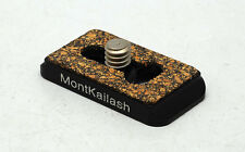 Kangrinpoche Mini quick release plate 33x20mm for Canon/Nikon/Leica/Sony/Pentax