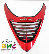 Carenado Frontal Superior Rojo Red Top Front Fairing Daelim F2 FI 125 2008-2012
