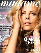 Madame figaro 2009: charlize theron _ mathilde seigner _ aure atika _ ariel wizman