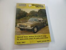 Vauxhall Victor VX 4/90 Ventura Inter europe Repair Manual