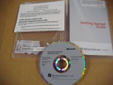 Microsoft Windows Server 2008 R2 Standard x64 64 Bit DVD w/SP1 5 CAL=BRAND NEW=