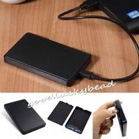 Tragbar USB3.0 2TB Externe Festplatte PC Desktop Handy Hard Disk Drives Case