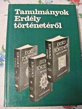 TANULMANYOK ERDELY TORTENETEROL~Racz Istvan 1988 Debrecen in Hungarian book