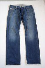 DIESEL yarik jeans Pantaloni Blu Stonewashed w34 l34