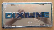 DIXILINE  DIXI LINE FRONT AUTO BOOSTER NOVELTY  LICENSE PLATE DIXIE MINT COND