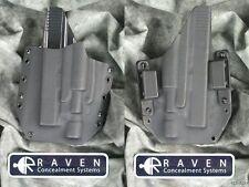 NEW LEFT HAND RAVEN LIGHT KYDEX HOLSTER for GLOCK 20 21 SF 10 45 SUREFIRE X400