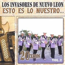 Los Invasores De Nuevo Leon : Esto Es Lo Nuestro 2 CD