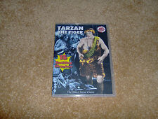 TARZAN THE TIGER SILENT CLIFFHANGER SERIAL 15 CHAPTERS 2 DVDS