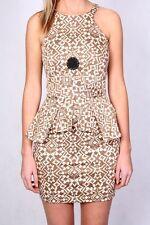 MAURIE & EVE Peplum Hazy dress,size AUS 10, NEW