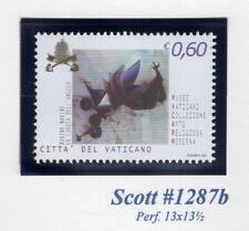 VATICAN CITY 2004 SCOTT NH 1287a Religious Museum Art NEW PERF - Free USA Ship