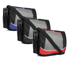 Men's Canvas Messenger Laptop Bag College School Shoulder Bag Travel Satchel New
