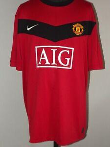2009-10 Manchester United Home (3XL) Shirt Jersey Maillot Camiseta Maglia Trikot