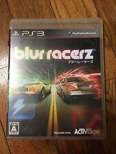Blur Racerz ( PS3 Import Japan ) Complete