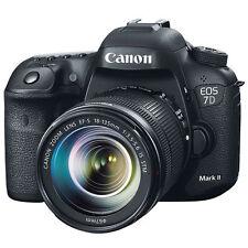 "Canon EOS 7DII 7D Mark II 18-135mm 20.2mp 3"" DSLR Digital Camera New Agsbeagle"