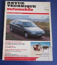 Revue technique  RTA 548 1993 Citroen ZX diesel & turbo diesel