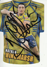 2009 NRL CHAMPIONS JERSEY HOLOFOIL CARD HAND SIGNED - JDC117 HINDMARSH EELS
