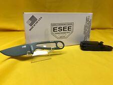 "ESEE IZULA-OD Neck Knife Fixed 2.875"" 1095 Carbon Blade, OD Green Powder"