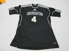 AUTHENTIC SOUTHEASTERN UNIVERSITY FIRE WOMENS GAME WORN SOCCER JERSEY SMALL