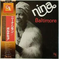 Nina Simone Baltimore CTI Records GP 3161 OBI JAPAN VINYL LP JAZZ