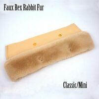 New 8 Colors Faux Rex Rabbit Fur Plush Trim for O BAG Classic or mini Obag women