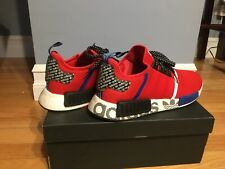 Mens Red Adidas NMD R1 Transmission size 10 Shoes Brand New in box never worn