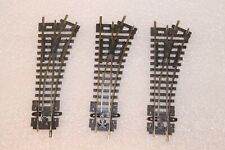 N Gauge Peco Small Radius Settrack Right Hand Points x 3