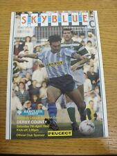 07/04/1990 Coventry City v Derby County  . Thanks for viewing this item, buy wit