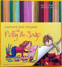 LIKE NEW Custard and Crayons - preschool recipes & crafts FREE AUS POST softback