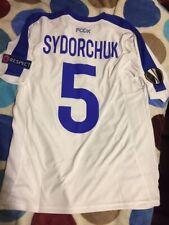 T-shirt Match Worn UEFA Football Dynamo Kiev Original Shirt NB 18/19