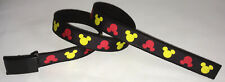 Mickey Mouse BELT Walt Disney Land World Kids Childrens Clubhouse Cartoons Logo