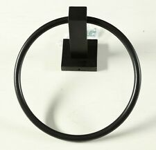 Allied Brass MT-16 Montero Collection Matte Black Towel Ring