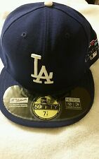 New Era 59FIFTY LA  DODGERS blue -MLB Baseball Cap Hat  7 7/8 originally $42